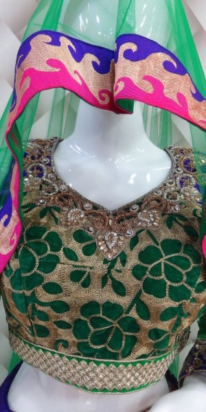 Beautiful net base Lehenga