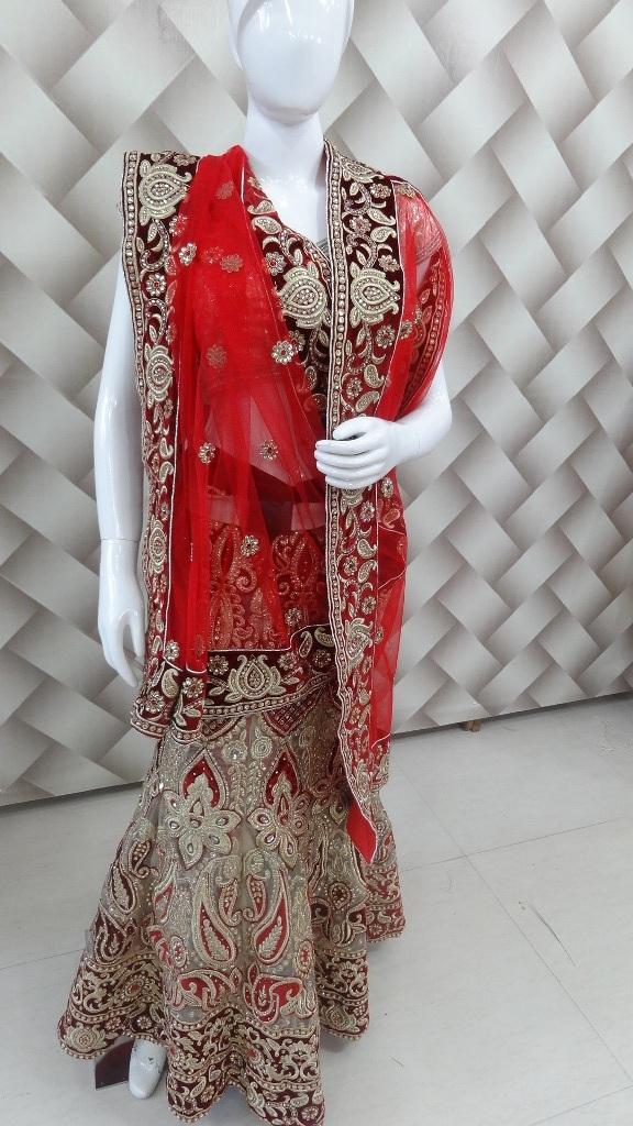 Double share bridal lehanga 1