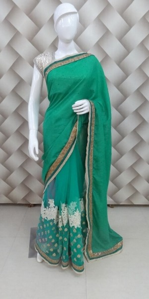 Exclusive Green Saree