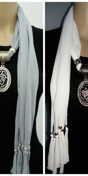 Gorgeous Jewelry Necklace Scarf