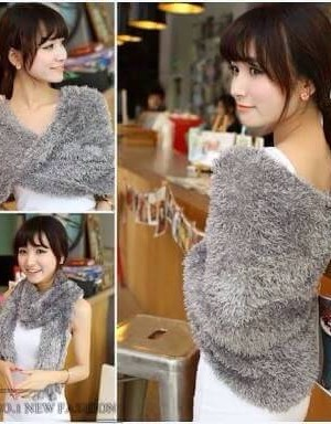 Gray Color Stylish Woolen Stole