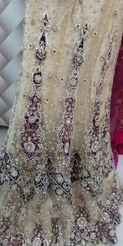 Designer red bridal lehanga