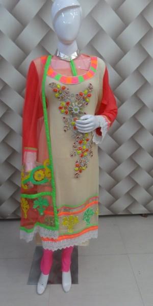 Goergeous Multi Color Suit