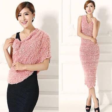 Beautiful Girlish Woolen Stole 1