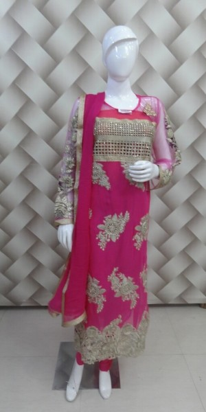 Designer Rani Color Suit