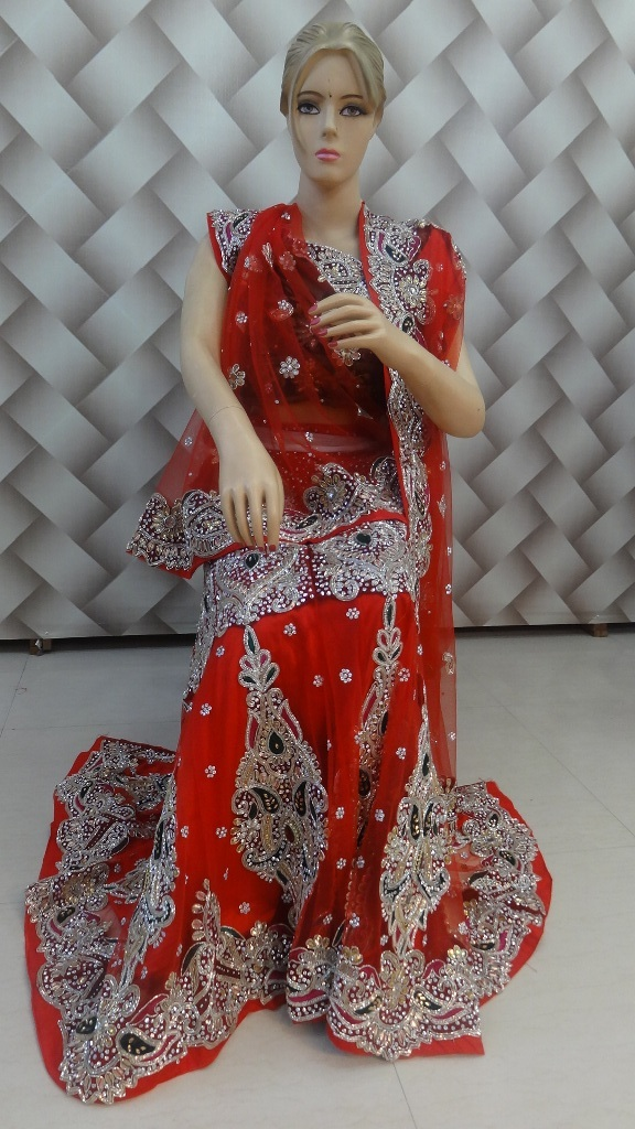 Exclusive red color lehanga 1