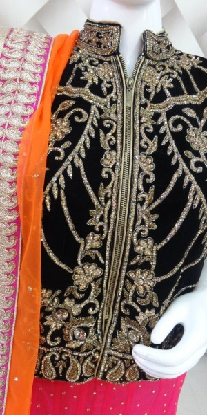 Beautiful tripal color Lehenga