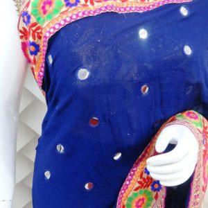Royal Blue Saree