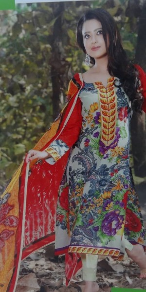Designer Multi Color Suit