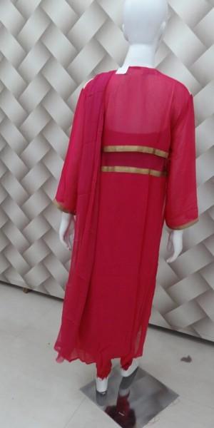 Rani & Golden Front Cut Designer Suit