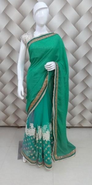 Exclusive Green Saree