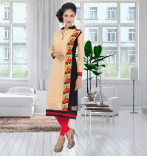 Good Looking Girlish Multicolor Suit