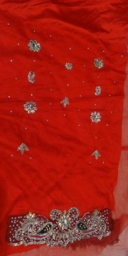 Exclusive red color lehanga