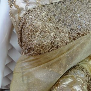 Fabulous Golden Saree