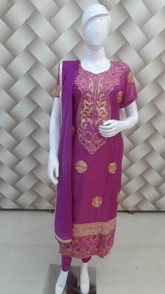 Imported Fabric Purple Suit